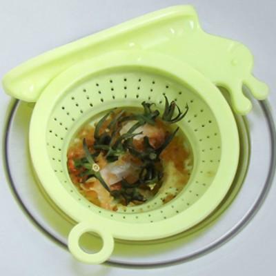 水槽過濾網創意蝸牛造型廚房水槽防堵地漏排水口過濾下水道過濾網