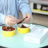 加厚一次性手套抽取式食品餐飲小龍蝦透明薄膜手套(100只裝)