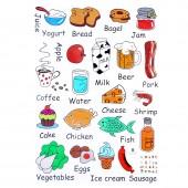 磁鐵冰箱貼卡通可愛留言板創意個性冰箱貼磁貼裝飾留言貼軟膠磁貼