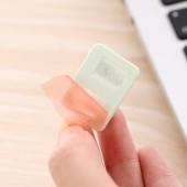 墻面貼數據電線固定線夾線扣走線卡扣網線卡子收納夾扣彩色塑料自粘理線器(8個裝)