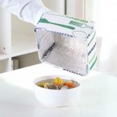 保溫菜罩冬季飯菜罩剩菜罩可折疊餐桌罩食物家用保溫罩蓋菜罩(小號)