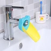 鴨嘴型水龍頭延伸器防濺水寶寶加長水嘴導水槽引水器兒童洗手延長器
