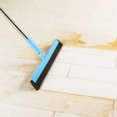 浴室拖把刮地板掃水刮水器尾部帶孔地刮家用衛生間掃頭發掃地工具魔術掃把