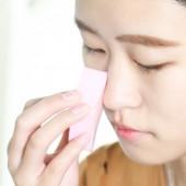粉撲海綿女生化妝美容美妝工具菱形洗臉撲潔面撲干濕兩用加厚散粉氣墊(四個裝)