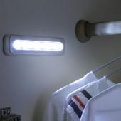 節能燈隨意粘貼衣柜燈櫥柜燈按壓式床頭小夜燈汽車LED長款應急照明燈