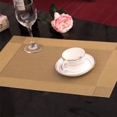 長方形餐桌墊隔熱墊加厚pvc防水防油碗墊子大號家用創意餐桌餐墊 對角2色方格