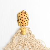 長頸鹿卡通樹脂掛鉤動物強力粘膠廚房粘貼鉤子墻壁門后面免打孔無痕粘鉤