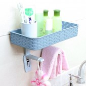 小人馬桶蓋置物架壁掛式洗手間置物架無痕免打孔廁所衛生間浴室收納架