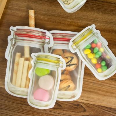 密封保鮮袋冰箱水果保鮮袋自封袋加厚密室袋食品級食物零食保鮮袋 JY171 大號 3只裝