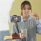 【兩片裝】隨手貼隨身貼固定器車載手機支架納米黑科技抖音網紅多功能水手貼