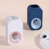 全自動省力擠牙膏器免打孔可拆卸牙膏置物架浴室壁掛式懶人擠壓器
