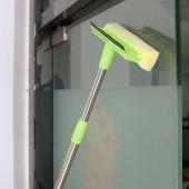 30年老品牌振興 不銹鋼柄玻璃窗刮家用擦玻璃神器雙面海綿頭窗戶刮刀清潔工具刮刷伸縮桿刮水器NO.SAM7964