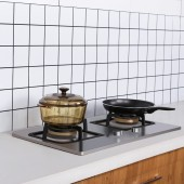 廚房防油貼紙防水防潮耐高溫油煙機防油紙家用裝飾創意圖案壁紙(5m)
