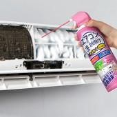 空調清潔劑家用免拆免洗空調掛機通用神器去味除垢泡沫空調清洗劑 全球倉(三色系 )粉色