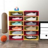 鞋子收納盒家用球鞋鞋子收納鞋柜抽屜式收納神器透明塑料鞋盒(小號)單個裝