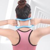 魔力環開肩膀神器瑜伽圈開背美背普拉提圈瑜伽伸展瘦肩健身瑜伽環(按摩款)