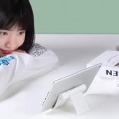 桌面折疊支架手機平板電腦ipad架通用多功能折疊式便攜床頭看電視直播神器支撐架