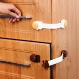 加長嬰兒童居家防開抽屜櫥柜冰箱鎖寶寶防夾手創意抽屜鎖扣門鎖扣