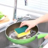 魅潔家用廚房洗碗布去污魔力擦刷鍋納米工字雙面海綿清潔刷 單片裝