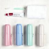 牙刷盒便攜式洗漱杯子漱口杯旅行牙刷盒便攜套裝牙刷杯水杯圓柱形旅行洗漱杯 JY167